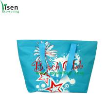 Blue Single Shoulder Beach Bag (YSBB120413-006)
