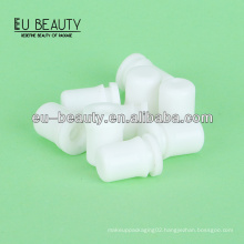 Silicone rubber teat for glass dropper bottle