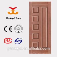 Интерьер дешевые плита HDF формованные двери кожи