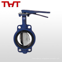 dn150 ggg50 wafer type desulfurization butterfly Valve