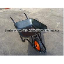 Brouette lourde de roue en acier de vente chaude (wb3806)