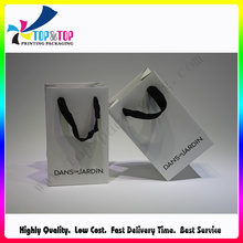 New Year Hot Sale Paper Bags with Cotton Handle