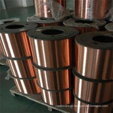 Fio de aço revestido de cobre de frequência cabo coaxial CCS
