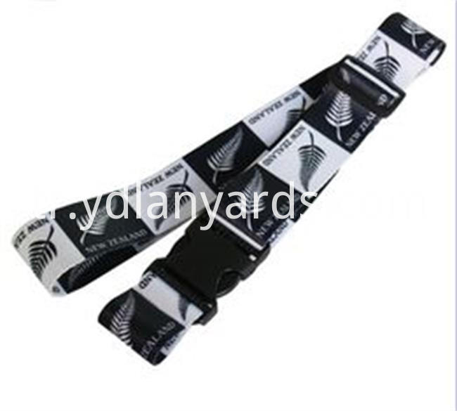 Dye Sublimation Luggage Strap