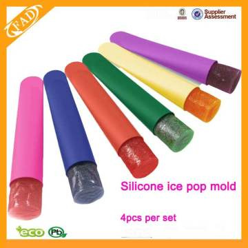 Neuheit BPA frei Silikon Eis Lolly Mould