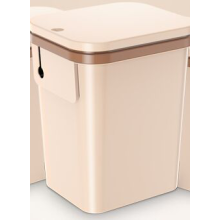 Automatic Sealing Trash Can with Inner Deodorizer