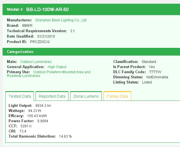 BB-LD-100W-AR-50