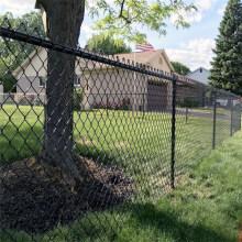 Clôture de maillon de chaîne de ferme de clôture de fil d'acier galvanisé