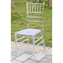 Cadeira de Chiavari de plástico de resina direta de fábrica