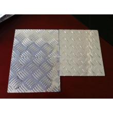 Пластинчатая пластина из алюминия с тиснением