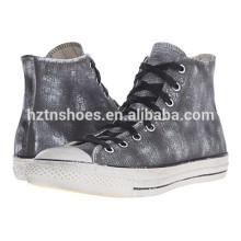 Großhandelsfrauen-Segeltuch-Schuhe 2016 Art- und Weisedame-hoher Spitzen-beiläufiger Sport-Schuh