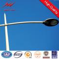 Street Light Pole 10m Certificado ISO Q235 HDG