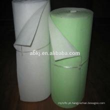 Mídia / material filtrante de ar de eficiência primária de fibra G4 Ployester