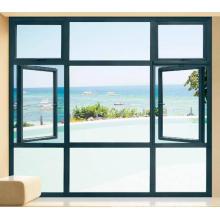 Sélectionnez les murs de fenêtre résidentiels en aluminium pliant jamaica