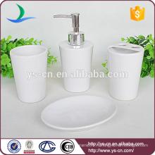 Избранное современные белые керамические аксессуары для ванных комнат