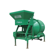 power concrete mixes with hydraulic tipping hopper