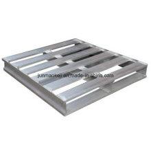 Palette en aluminium, compatible pour le bois, le métal, le plastique et la feuille de glissement
