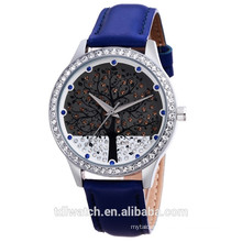 SKOEN 9195 Japan quartz movt watch with crystal for lady
