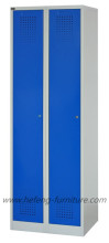 Turkish Style Furniture Two Door Locker With Clothes Design JF-2B1A