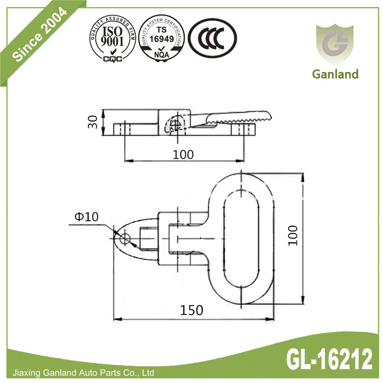 Folding Foot Step gl-16212