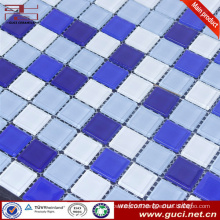 hot sale product swimming pool mixed glass mosaic wall tile design