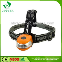 Dynamo rechargeable portable red led mining headlamp