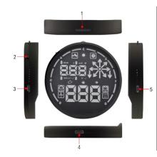 V-Checker H501 БД 2 автомобиля Hud голову Дисплей спидометра детектор автомобиль превышения скорости оповещения