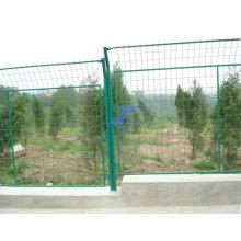 Дешевые ПВХ покрытием сварная сетка каркас фермы ограждения (ЭС-L53)