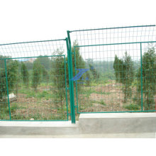 Cheap PVC Coated Welded Wire Mesh Frame Farm Fencing (ES-L53)