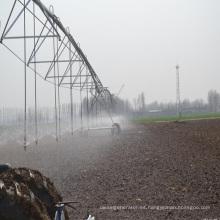 Equipo de riego de pivote central agrícola de tierras de cultivo