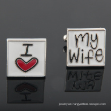 Luxury Lover Cuff Links French Shirts Cufflinks