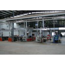 2014 nouveau WPC FAISANT MACHINE / machine d'extrusion de PVC WPC machine de composites en bois