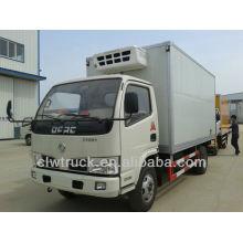 5 toneladas Dongfeng Mini 4X2 camión frigorífico en Burundi