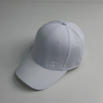 Custom White Embroidery Dry Fit Baseball Cap
