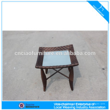 Small Size Rattan Furniture Side Table Outdoor End Tables