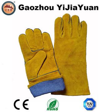 Gants de travail de soudure à isolation thermique avec En12477