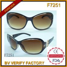 Nuevas gafas de sol y gafas de sol plásticas (F7251)