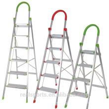 Escada de Degrau Doméstica Dobrável Escada de Alumínio Multiuso