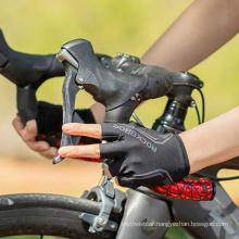 High Quality Rockbros Color Reflective Half-Finger Gloves Bicycle Gloves