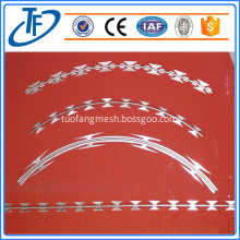 High security razor wire mesh