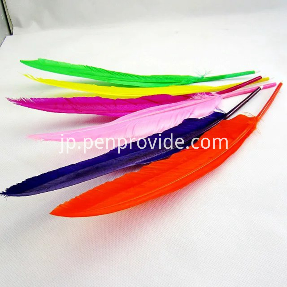 Custom Logo Feather Quill Pen