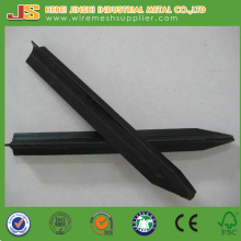 Black Bitumen Star Picket, Metal Y Post, Stahl Picket
