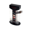 Acrylic Liner Pencil Cosmetics Display Stand Showcase