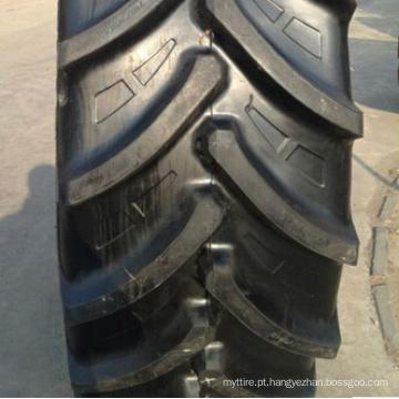 Pneu sem câmara de ar, pneu de implementar (380/90R46 80R46/480 360/70R24 420/70R24), Linglong Radial pneus agrícolas Lr650 (R-1W), pneu do trator da fazenda