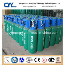 Oxygène Nitrogène Lar CNG Acétylène CO2 Hydrogeen Nitrogène Lar CNG Acétylène Hydrogène 150bar / 200bar Cylindre à gaz en aluminium sans pression haute pression