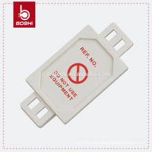 BD-P31 Safety Tagout Plant Machinery Harness Micro Tag, lockout tagout equipment