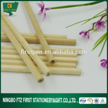 Lápiz de madera hexagonal barato