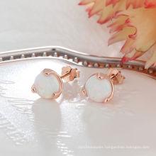 High End Opal Earring Popular jewelry Opal Stone Earrings