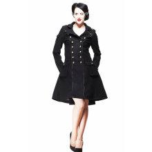 Retro Style Winter Women Long Coat (CS-C01)