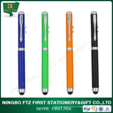 Cap-Off Touch Function Laser Stylus Pen